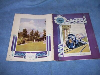 1939 King George VI The Royal Tour of Canada United States Souvenir Booklet