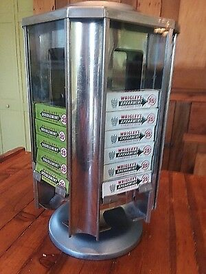 c. 1922 Wrigley's Gum Rotating Counter Top Display / Dispenser