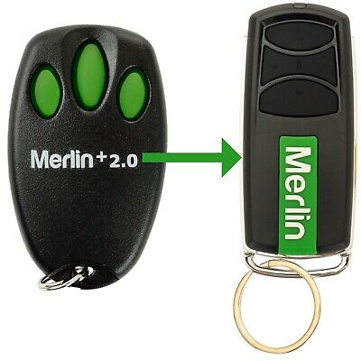 Garage Door Remote Control Merlin E945M Security+ 2.0 EVO - Replacement Options!