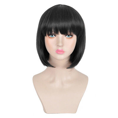 Fashion Bob Wig Human Hair Wigs Short Straight Hair Full Wig for Women Girl
