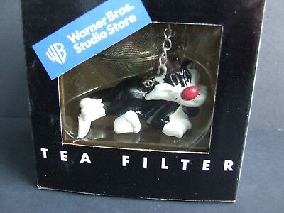 Warner Bros Studio Store 1998 Sylvester the Cat Tea Filter Looney Tunes RARE