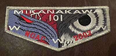 Circle Ten Council Mikanakawa Lodge 101 Oa Flap