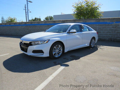 2018 Honda Accord LX CVT Sedan LX CVT Sedan 4 dr CVT Gasoline 1.5L 4 Cyl
