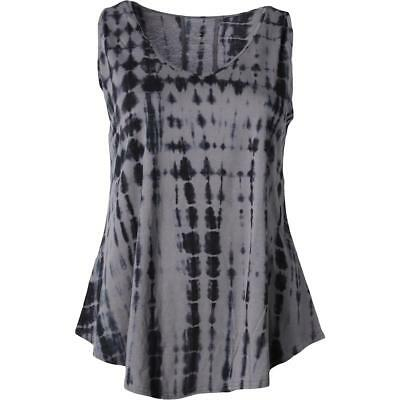 The Balance Collection 4100 Womens Gray Knit Tank Top Athletic Plus 3X BHFO