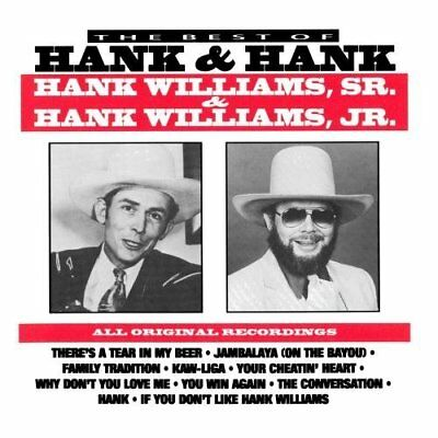 Williams Sr/jr, Hank-Best Of Hank & Hank  Cd New