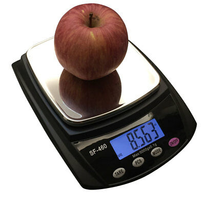 Digital 11lb 5kg Kitchen LCD Electronic Household Food Cooking Scales Weighing