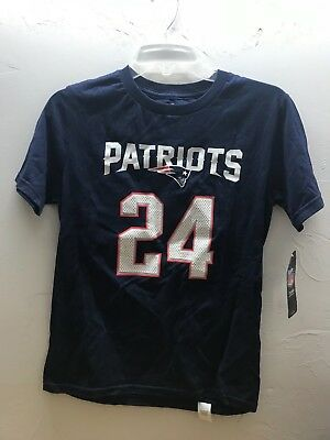 Derelle Revis #24 T-Shirt NWT! FAST SHIPPING! Youth Medium 10/12