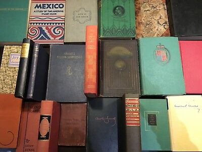 Lot Of 5 Unsorted Antique And Vintage Books