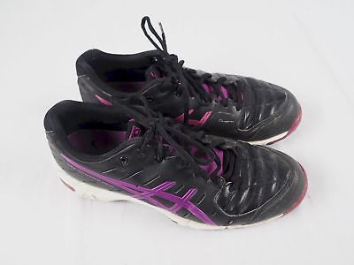ASICS GEL HOCKEY NEO 3 Mens Hockey Shoes BlackFiery Red