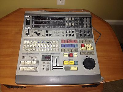 Sony FXE 120 Video Editing System.