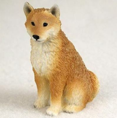 SHIBA INU TINY ONES DOG Figurine Statue Pet Lovers Gift Resin