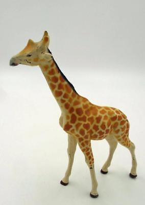 "Vintage Pre-War Composition 7"" Tall Giraffe Made In Germany"