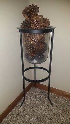 Partylite Hurricane Candle Stand