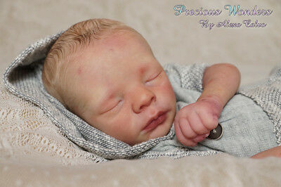 "Reborn Doll Kit ""realborn Sleeping Leif"" 18"" (Unpainted)"