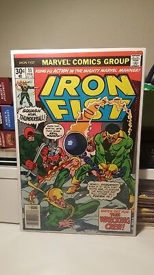 Iron Fist #11.     (Vf  8.0)     ~The Wrecking Crew~   First Print   1977
