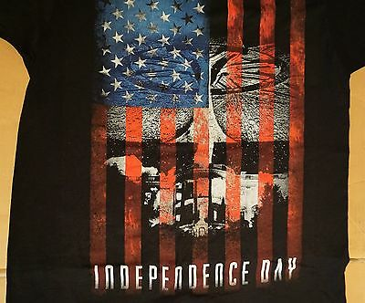 ID4 Independence Day 2 Movie USA Flag on White House Alien T Shirt Mens S-3XL Nw
