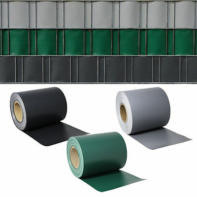 35m - 195m  PVC Garden Fence privacy screen Mesh Foil Roll balcony Blind Shade