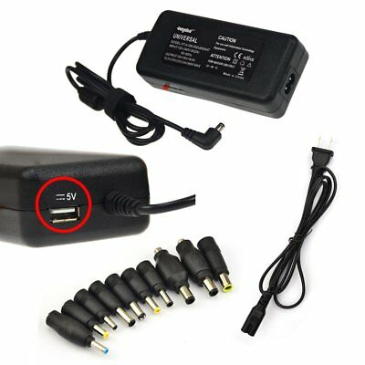 90W Universal 10 Tip AC Adapter Power Supply Battery Charger for Laptop Notebook