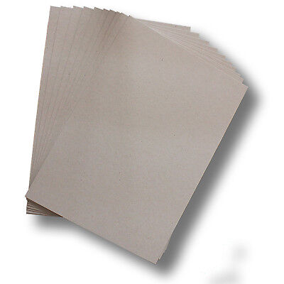 50 x BoxBoard Backing Card 450gsm .75mm A4 Grey 100% ReCycled #B1208
