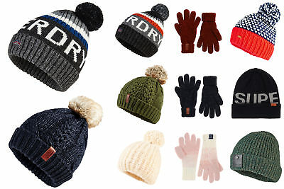 New Superdry Accessories Selection - Various Styles & Colours 1601