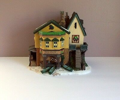 "Dept. 56 ""The Grapes Inn"" 5th Edition 1996 Signed By Jeanne Marie Dickens"