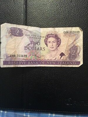 Reserve Bank of New Zealand 2 Dollars