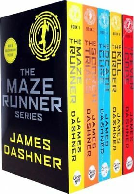 The Maze Runner Series Complete Collection Boxed Set by Dashner, James
