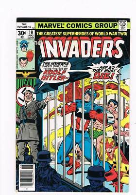 Invaders # 19 War Comes to the Wilhelmstrasse ! grade 5.0 scarce book !!