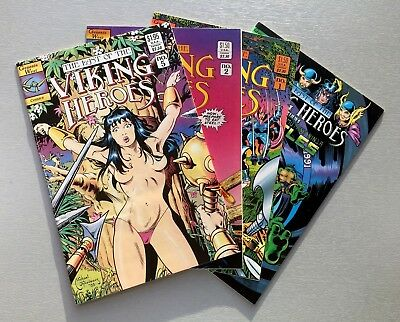 Genesis West THE LAST OF THE VIKING HEROES #1 2 5 VARIANT + TMNT #3 Ships FREE!