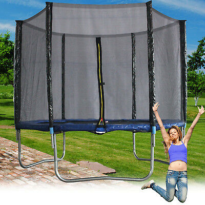 trampolin kindertrampolin mit sicherheitsnetz blau gsd 14443 kinder 140 outdoor eur 79 95. Black Bedroom Furniture Sets. Home Design Ideas