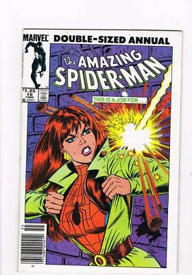 Amazing Spider-Man Annual # 19 Fun 'n' Games ! grade 7.5 scarce book !!