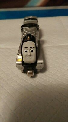 2009 Thomas The Train & Friends Diecast Talking Light Up SPENCER and tenderRare!
