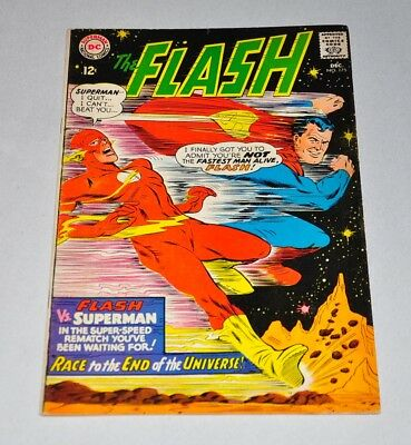 Flash 175 Superman Race Silver Age VG/F