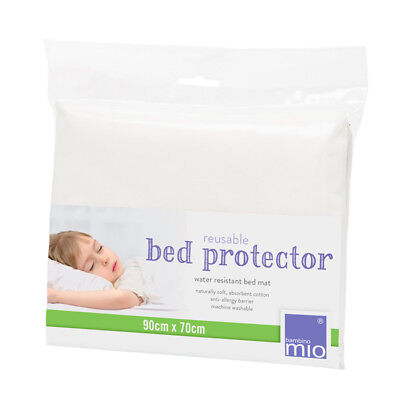 Bambino Mio Bed Protector Bed Mat Water Resistant 90cm x 70cm