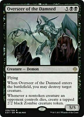 Overseer of the Damned ~ Archenemy: Nicol Bolas ~ NearMint ~ Magic The Gathering