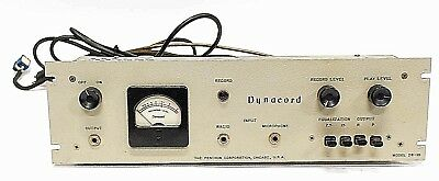 Vintage Dynacord Model DS-10 Audiophile Amplifier Preamp Made in USA