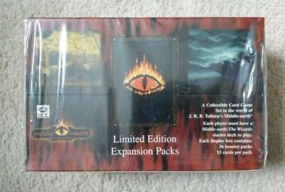 Middle Earth CCG The Dragons - FACTORY SEALED Booster Box