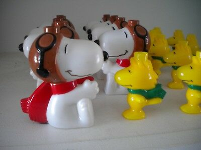 Lot of 19 Peanuts Snoopy Flying Ace Red Baron Woodstock String Light Covers