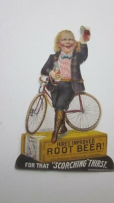 1897 General Store Counter Display for Hires Root Beer