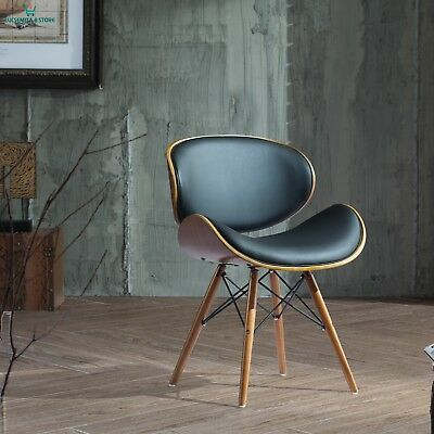 30 Inch Chair with Walnut and Black Color Finishes Black Living Decoration Read
