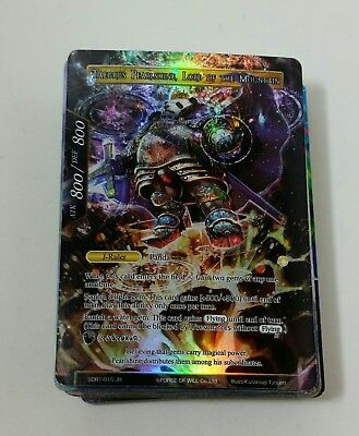 Force of Will FOW Light Cluster Starter Deck - King of the Mountain - Cards Only