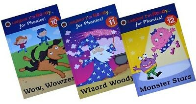 Ladybird I'm Ready for Phonics - Levels 10-12 [3 book set]