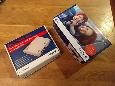 Arcor-DSL WLAN-Modem 200 + Arcor Starterbox