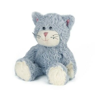 Warmies Blue Cat Cozy Plush Microwavable Heatable Animal Cuddly Soft Toy Bedtime