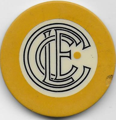 Crest & Seal Illegal Chip Marked LECC-Illegal Club-Chicago, Il. CG100570-Closed