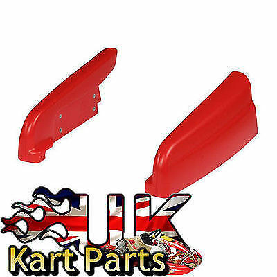 KART Pair of Red KP CIK 14 Side Pods Best Price on eBay Limited Stock