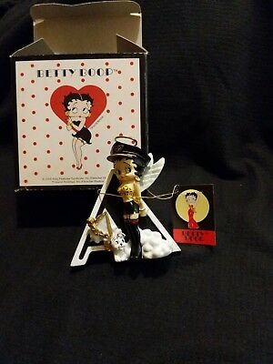 Betty Boop Alphabet, Letter A (Betty by Westland, 6741) Betty & Pudgy Angel