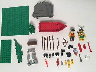 Lego Pirates Islanders Crocodile Cage 6246 Parts Minifigures Parrot Accessories