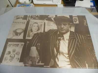 Vintage Poster Robert Redford The Sting # 352CR 1973 by Universal Pictures 22x33