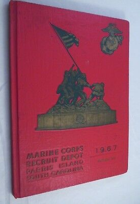 1967 Marine Corps Recruit Depot Paris Island South Carolina Platoon 378 Yeadbook